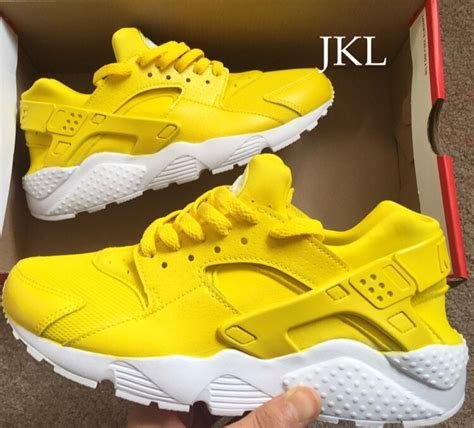 color run amarillo best price nike huarache blanco amarillo verde b8743 53b24