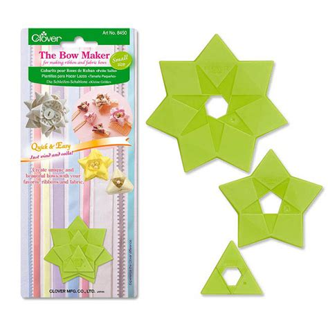 bow maker template clover bow maker small cl8450 mca direct