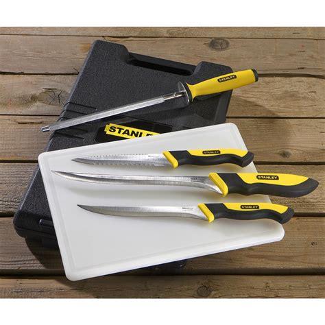 fishing knife set stanley 174 fishing set 116841 fillet knives at sportsman