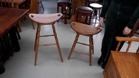 Bar Stools Made From Saddles by Bar Stools Made From Saddles Nyctophilia Design