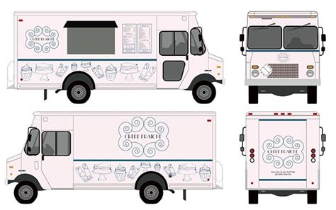 Food Truck Design Project | food truck on behance