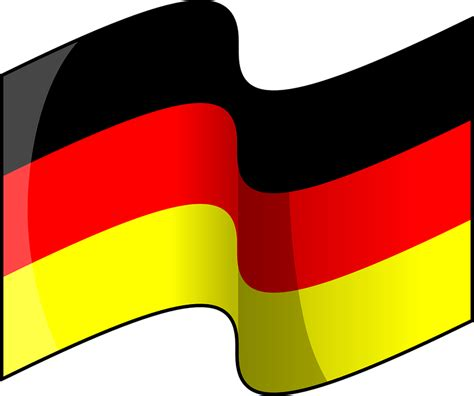 free german free vector graphic german flag germany nationality
