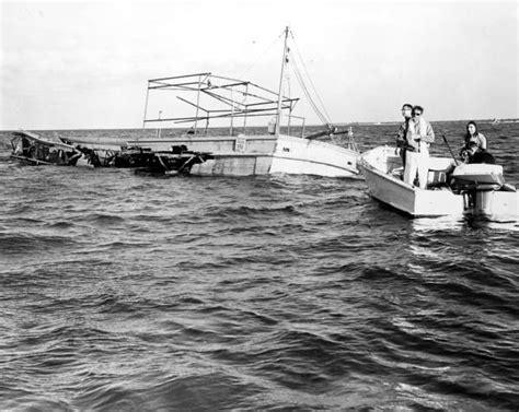 boat salvage hurricane michael lost pt boat off florida