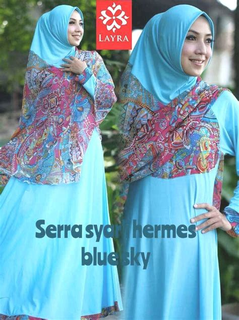 Senza Dusty Pink Maroon By Supernova House serra blue sky pusat grosir baju muslim