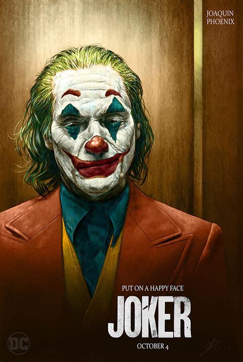 joker alternative teaser poster  behance