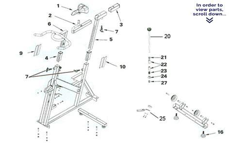 schwinn airdyne parts diagram schwinn airdyne parts diagram best free home design