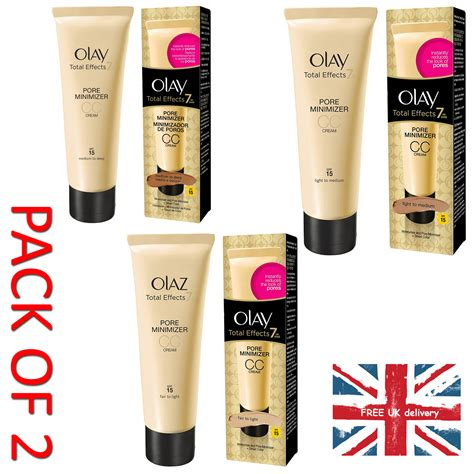 Olay Total Effects 7 In One Pore Minimizing Toner 2 x olay total effects 7 in one pore minimizer cc moisturisers ebay
