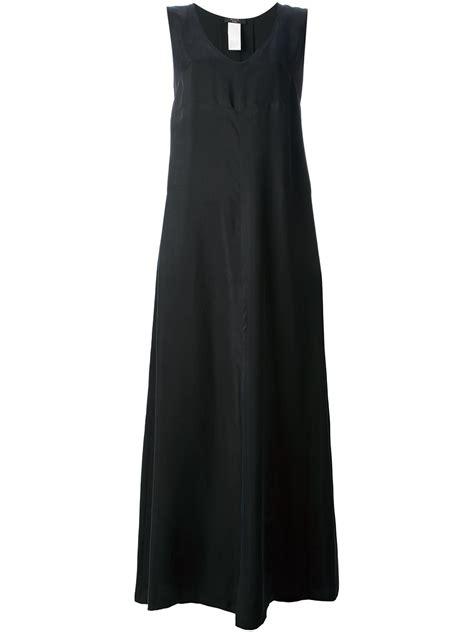 Maxi Maxmara Batik lyst weekend by maxmara maxi dress in black