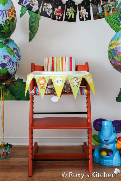 1st birthday jungle theme decorations safari jungle themed birthday part iii diy