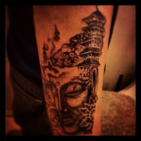 temple tattoo tattoo japanese pinterest