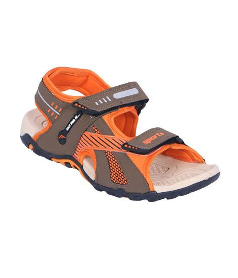 asian sandals asian orange daily wear sandals for price in india