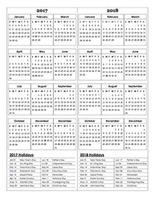 Calendar Template 2018 Publisher Three Year Calendar Template 2016 To 2018 Free Printable