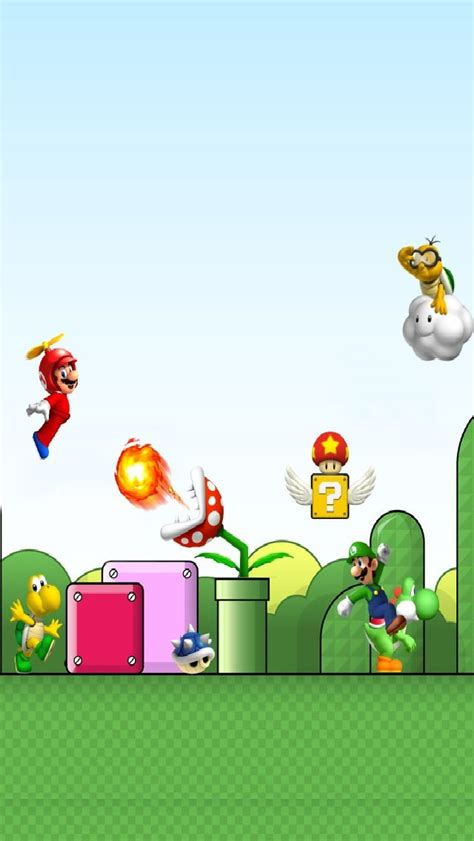 Luigi Y2834 Iphone 5 5s mario bros iphone 5 lockscreen iphone 5 5s wallpaper