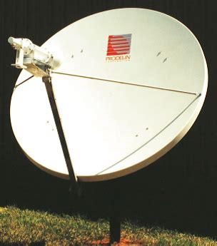 Antena Vsat Prodelin Prodelin 1 2m Ku Band Rx Tx Antenna Used Ai Sat