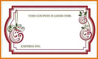 blank coupon template coupon template selimtd