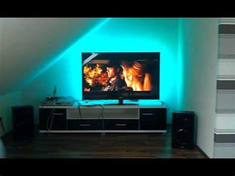 fernsehbeleuchtung led ambilight selber bauen led hintergrundbeleuchtung f 252 r