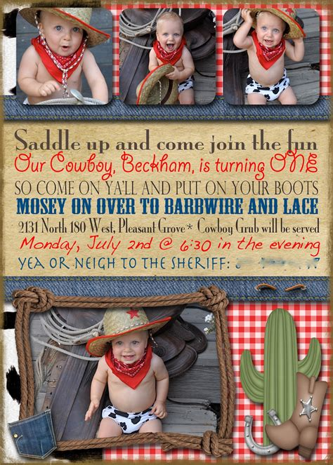 Planter Table Cowboy Birthday Party Ideas Events To Celebrate
