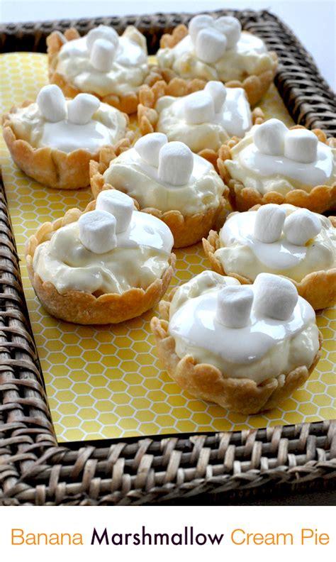 easy spring desserts kraft banana marshmallow cream pie