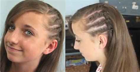 hairstyles that look flatter on sides of head image gallery side twist