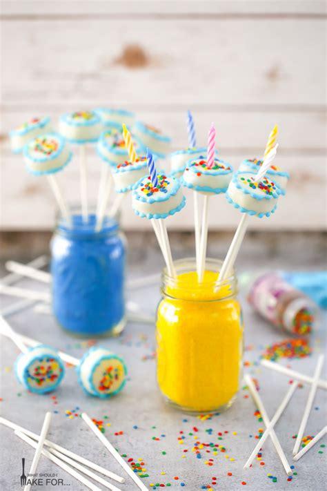 pop birthday birthday cake cake pops what should i make for