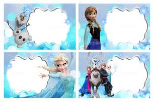 free frozen templates 10 best images of frozen free printable label templates