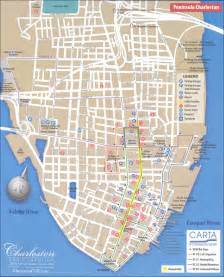 maps update 10331277 tourist map of charleston sc map