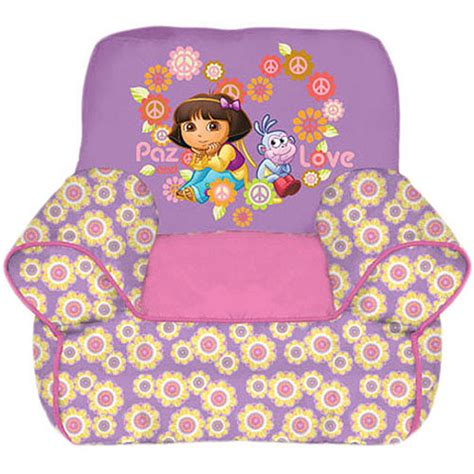 dora the explorer couch dora the explorer sofa chair walmart com