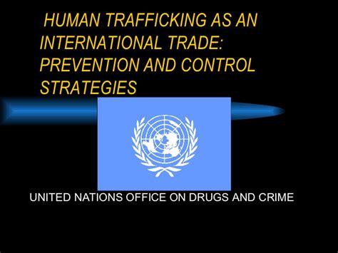 libro trafficking and global crime human trafficking as an international trade