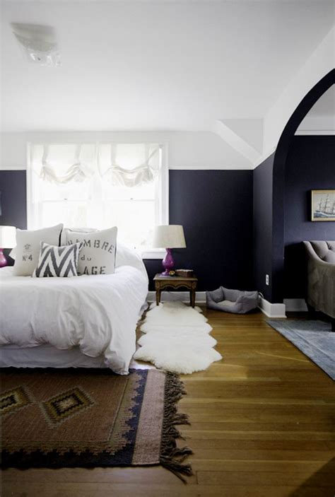 navy bedroom best 25 painted walls ideas on blue
