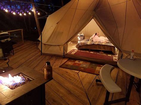tent deck sibley tent on elev tree deck kid pet vrbo