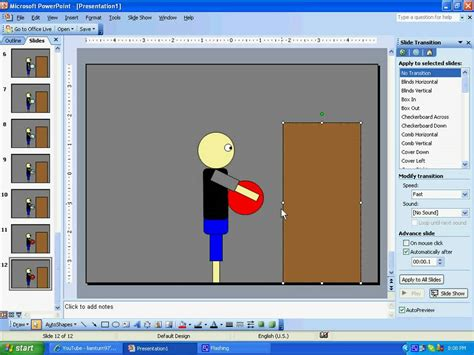 How To Make A Powerpoint Animation Tutorial Youtube How To Make Ppt Template 2007