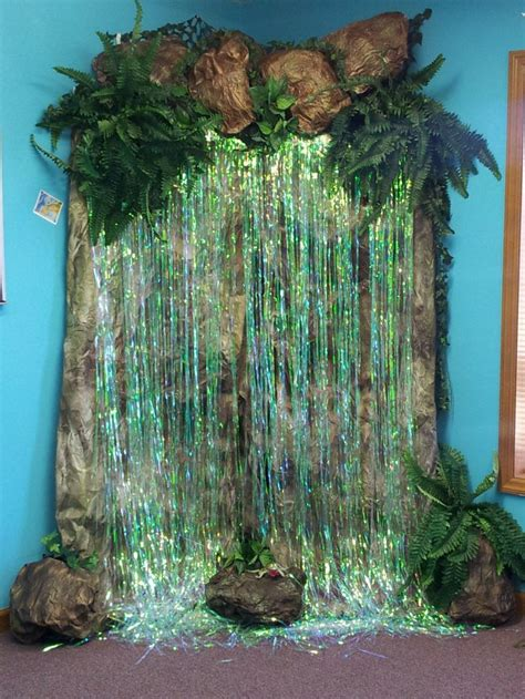 waterfalls decoration home jungle safari decorations for vbs vbs 2012 quot victoria
