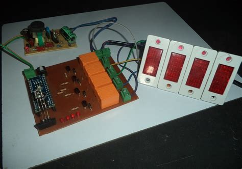 home automation using ir remote working pcb