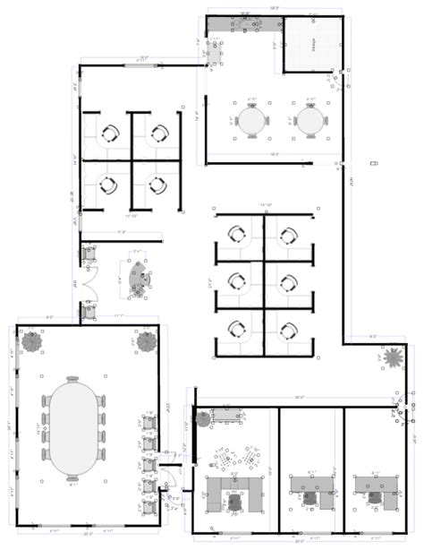 open office floor plan layout office layout planner free app