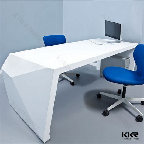 corian office table corian desk rc 13 kingkonree solid surface