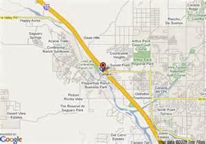 map of days inn and suites tucson marana tucson