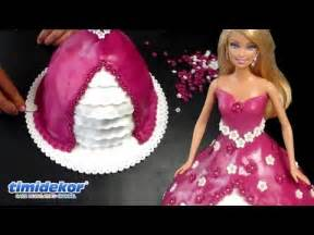 barbie doll cake how to decorate a princess cake dort s panenkou youtube
