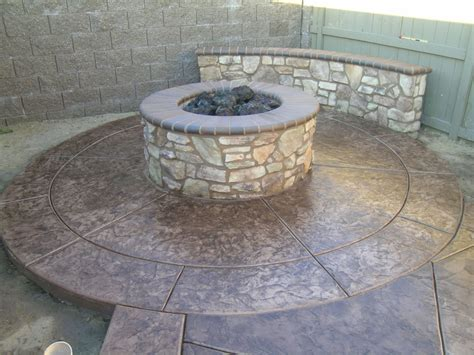 Concrete Fire Pit Photo Gallery Of The Cast Concrete Fire Concrete Pit