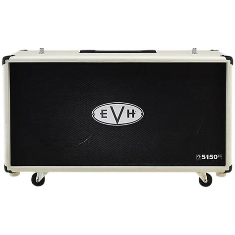 Evh Cabinet evh 5150 212st 2x12 guitar speaker cabinet ivory ebay