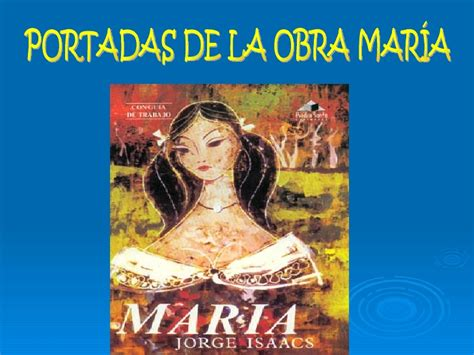imagenes sensoriales de la novela maria mar 237 a jorge isaacs