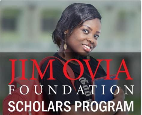 Mba Scholarships Lebanon by Jim Ovia Foundaiton Scholarship Program 2016 Myschool