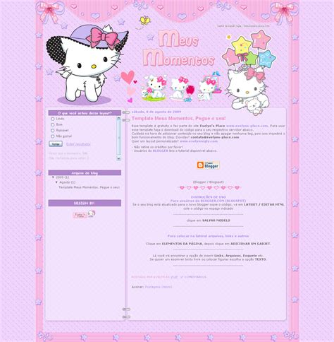templates para blogger gratis momentos free template blogger by evelynregly on deviantart