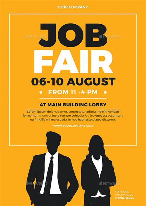 job fair posting exles professional high quality