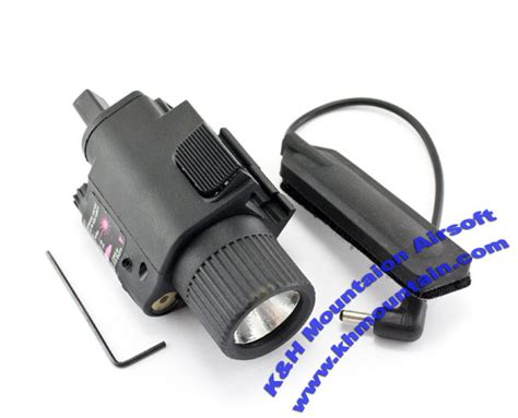 Termurah Tactical Airsoft M6 Laser With Flashlight Include khmountain