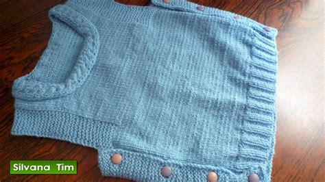 chompitas a dos agujas para bebes silvana tim tejido con dos agujas puntos patrones de