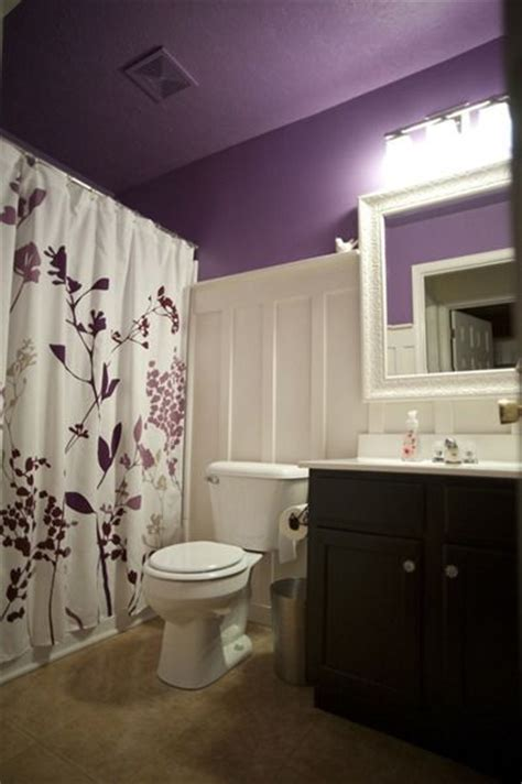 bathroom board purple board and batten bathroom