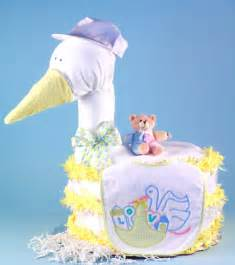the stork delivers a diaper cake the frederick basket company