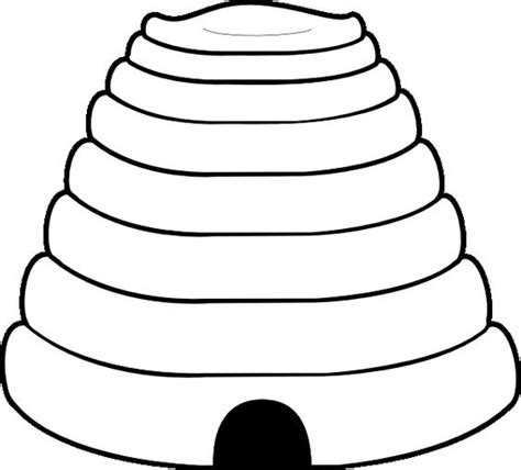 hive template bumble bee hive coloring pages education