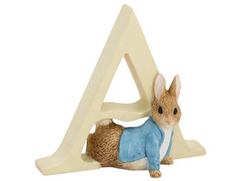 Gift For Housewarming Beatrix Potter Alphabet Initial A Peter Rabbit Peter S