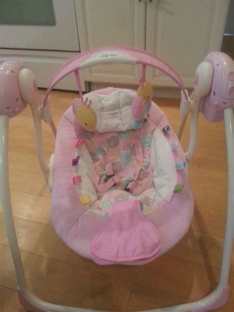 taggies baby swing taggies portable swing cozy posies baby kids in